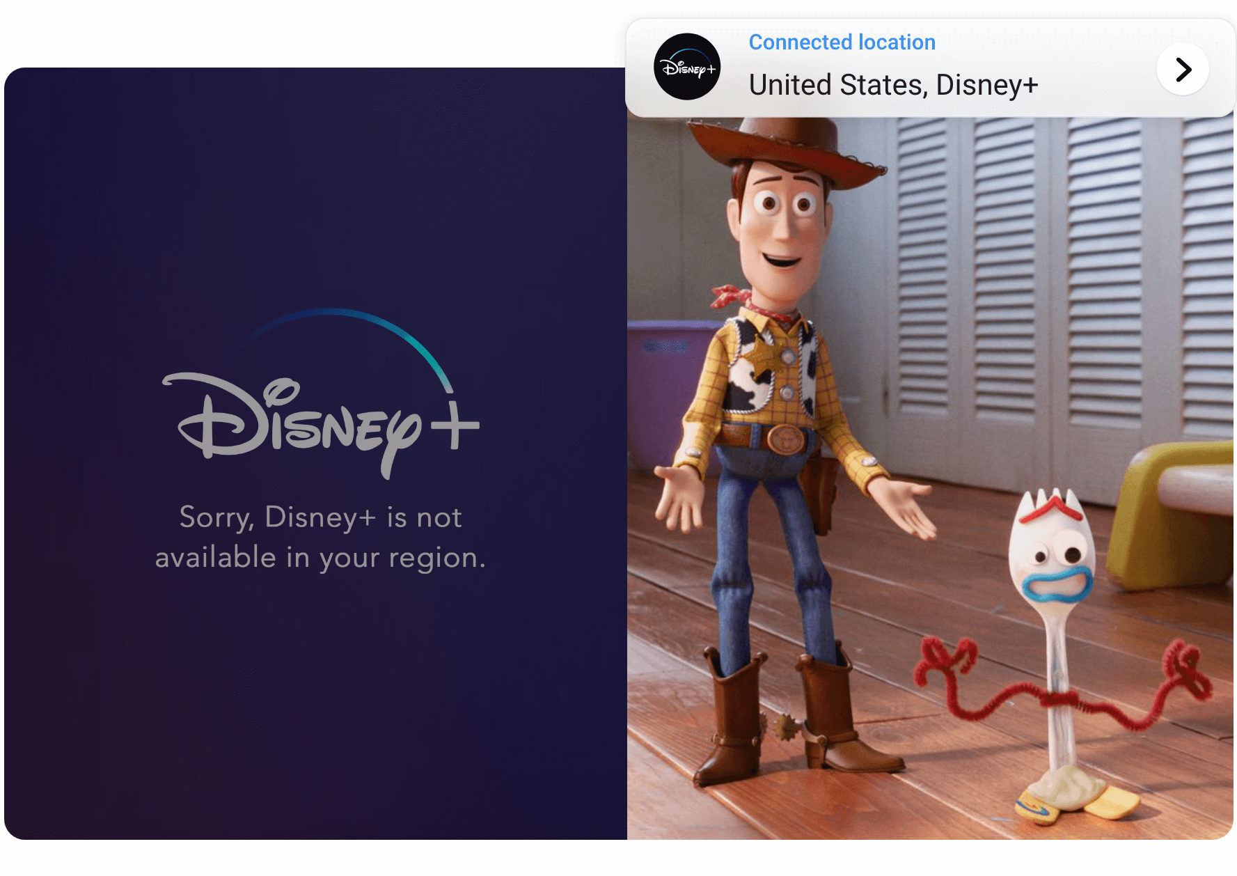 Watch Disney+ without restrictions