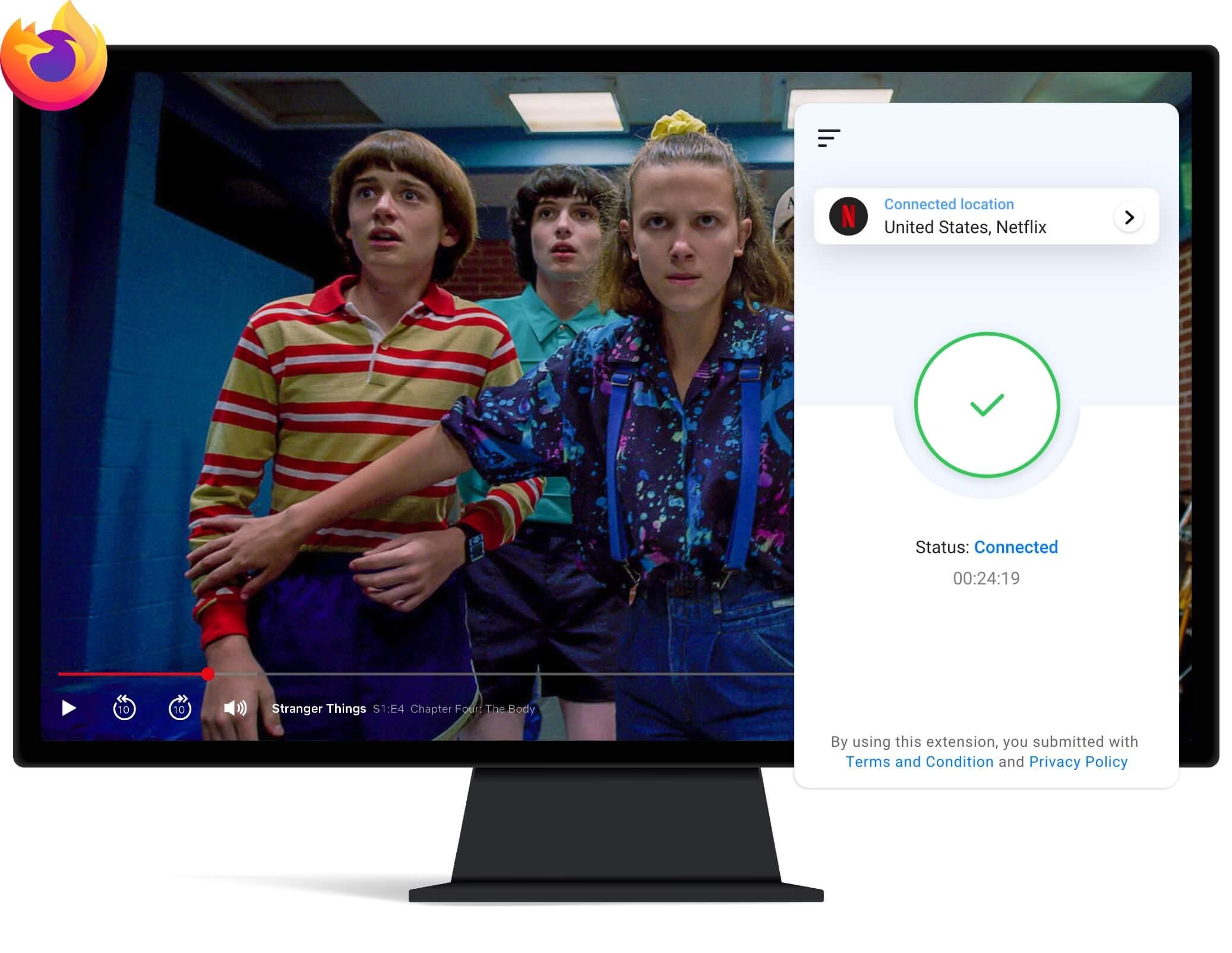 VPN for Streaming in Firefox