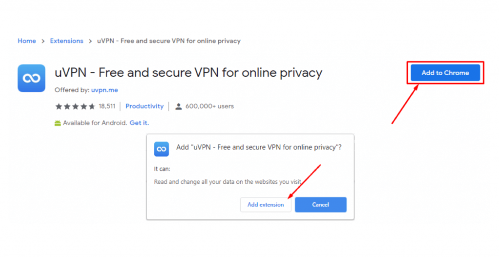 How to add VPN to Chrome