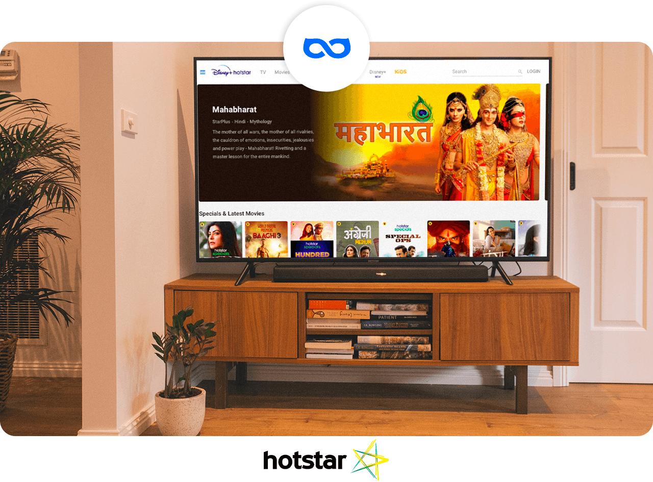 Get Hotstar subscription with VPN