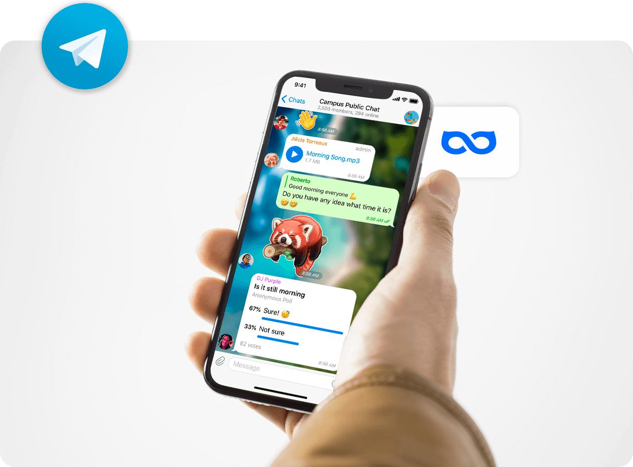 How to use Telegram VPN in 3 steps